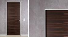 Ebony Veneer Door