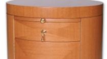 Anigree Veneer Round Dresser