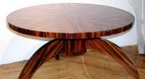 santos polisander dinning table