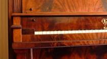 mahagony crotch raymond piano